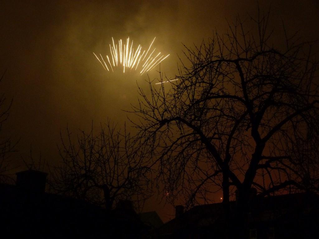 Unterliederbach begrüßt das neue Jahr
